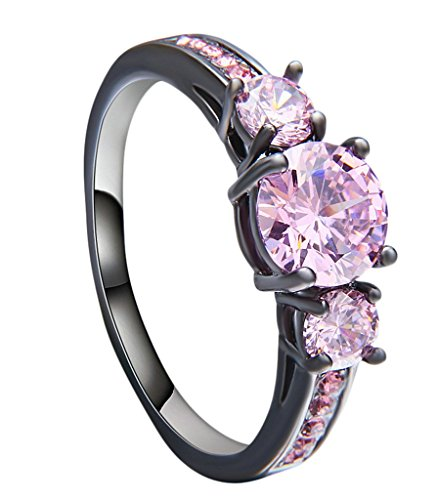 Bishilin-Black-Gold-Plated-Brilliant-Cut-Pink-Cubic-Zirconia-Bridels-Jewelry-Wedding-Rings-for-Her