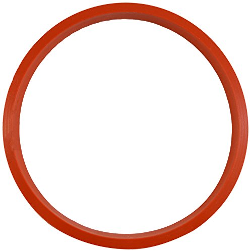 Paderno World Cuisine Silicone Gasket, 5 1/8-Inch, Red
