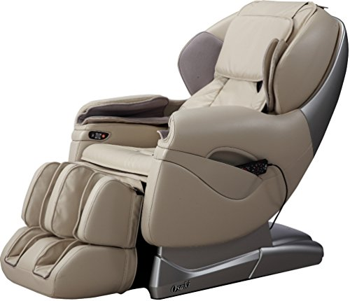 Osaki TP8500D Model TP-8500 Massage Chair, Beige, L-Track Massage Function, Zero Gravity Position, Massage Track, Massage Technique, Air Massage, Foot Massage, Computer Body Scan