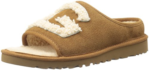 Used, UGG Women's Slide Slipper Chestnut/Natural 8 M US for sale  Delivered anywhere in USA