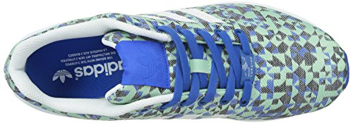 adidas Zx Flux Weave, Unisex Adults' Trainers Blue/Ftwwht/Cblack