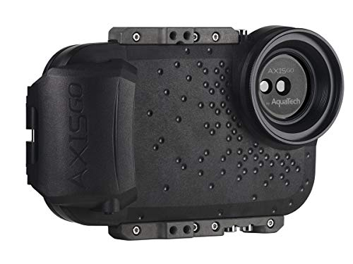 AxisGO iPhone 11 Pro Max/iPhone 11 / iPhone Xs Max/iPhone Xr Waterproof Phone Housing for Underwater Action Photography Snorkeling Surfing Travel Case - Black