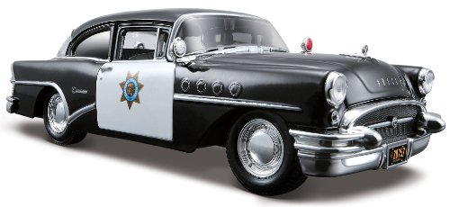 Maisto 1:26 Scale 1955 Buick Century Diecast Vehicle (Styles May Vary)