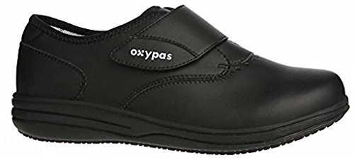 Suitable Sole Oxypas Caregivers For Emily Inner Professionals Antistatic Absorbing Uk 5 Slip Healthcare Shock Removable Lightweight 5 Anti Black Nurses And a0Oa1q