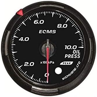 WY-WY エンジン、船舶、修正車のインストルメントパネル60ミリメートルセンサーオートカー12Vユニバーサルで1000キロパスカルオイル圧力計