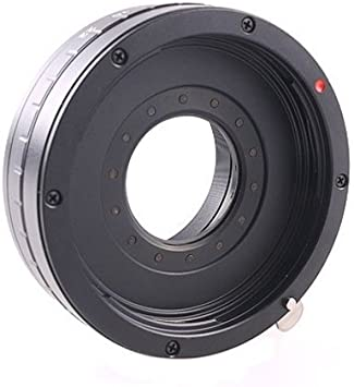 RMADCM4//3 Adapter ring for Canon EF-Micro 4//3 with adjustable aperture