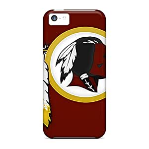 Durable Hard Phone Cases For Iphone 5c (mnc9565ltaW) Provide Private Custom Attractive Washington Redskins Pictures
