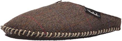 Pet Woolrich - Woolrich Men's Wool Mill Scuff Slipper,Tweed Wool,8 US/M(8-9) M US