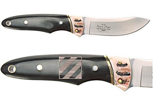 - NDZ Performance Elkridge 7.25'' Fixed Blade Wood Handle Knife ER088 3rd Infantry Division Army