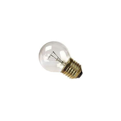 lámpara bombilla esfera para Horno Clara E27 25 W hasta 300 ...
