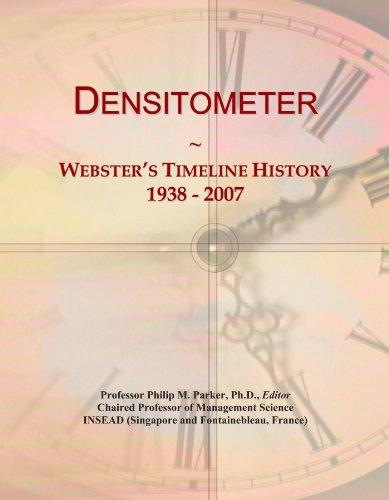 Densitometer: Webster's Timeline History, 1938 - 2007