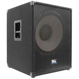 Enforcer II-PW 18 Inch Active Subwoofer Cabinet