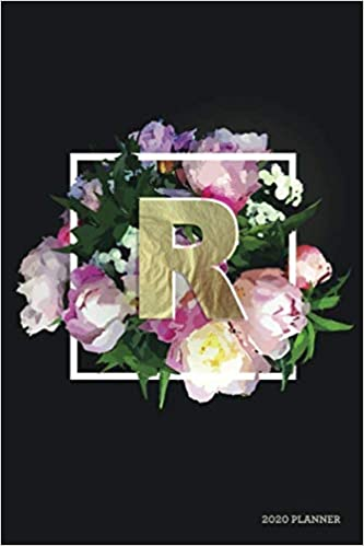 R 2020 Planner: Weekly + Monthly View | Floral Monogram ...