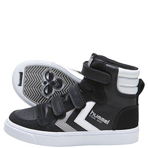 Hummel Stadil Jr. Velcro High Blk/wh/Gr.