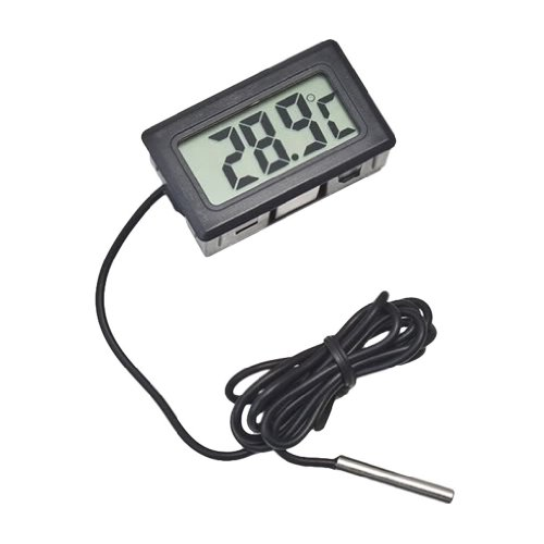 Price comparison product image Digital Temperature Meter with Remote Temp Sensor Thermometer for Fridges Freezers