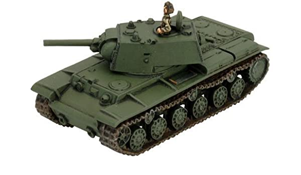 KV-1 by Flames of War - WWII - Soviet - Tanks: Amazon.es: Juguetes ...