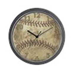 CafePress - Baseball - Unique Decorative 10 Wall Clock