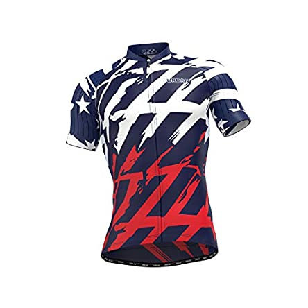 Men's American Patriot Short Sleeve Jersey, Cargo...