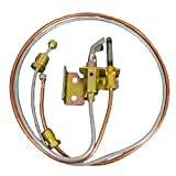 MENSI Water Heater Pilot Burner With Pilot Thermocouple and Tubing LP Propane 1 PCS