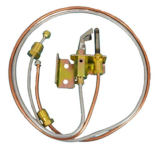 (MENSI Water Heater Pilot Burner With Pilot Thermocouple and Tubing LP Propane 1)