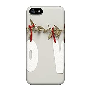 Welchmoibe1999 Scratch-free Phone Cases For Iphone 5/5s- Retail Packaging - Love Swag