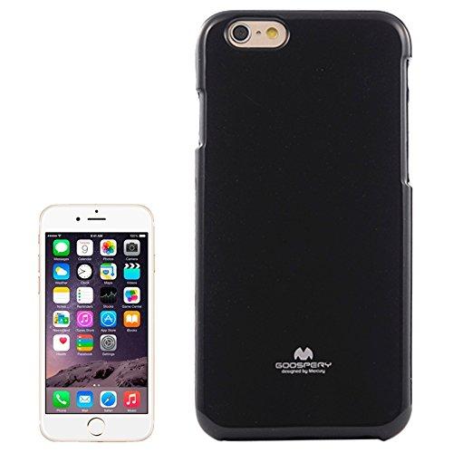 Phone Taschen & Schalen Für IPhone 6 u. 6S, Gelee schimmernder Puder TPU Fall ( Color : Black )