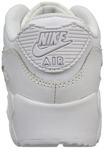 Nike Kids Air Max 90 Ltr Ps Sneakers Wit / Wit-cool Grey