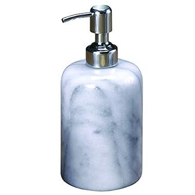 Creative Home Internal Spa Collection White Marble Liquid Soap Dispenser