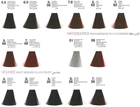 Glossco, Negro, Coloración 100 ml, Color 7, G01000007