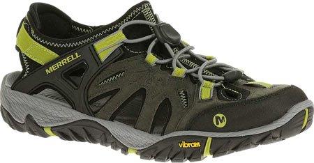 Merrell J65233 Zapatillas de Montaña para Hombre Castle Rock / Green Oasis