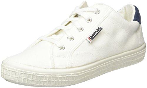 Top 0 Badmin Kawasaki Erwachsene White 01 Weiß Unisex Low 2 WIYwpCwq