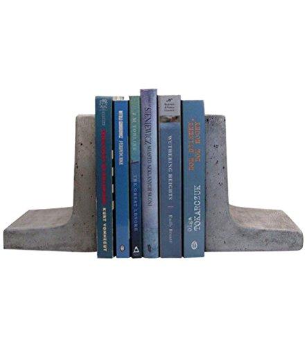 Scoutmob Home Modern Concrete Bookends (Concrete Decor)
