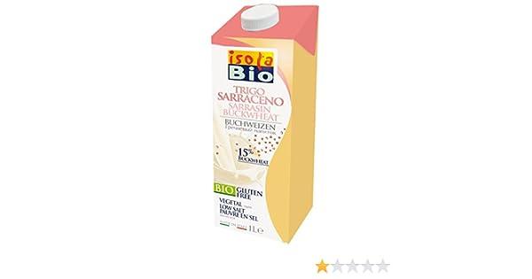 Isola Bio Bebida Vegetal de Trigo Sarraceno - Paquete de 6 x 1000 ml - Total: 6000 ml: Amazon.es: Alimentación y bebidas