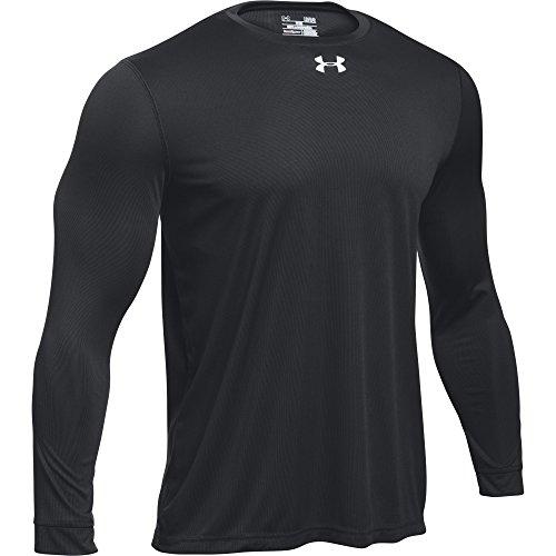 Under Armour Men's UA Locker 2.0 Long Sleeve Shirt (Medium, Black)