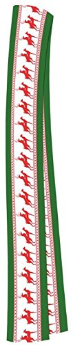 Adele Fancy Dress Costume (Forum Novelties Men's Reindeer Games Scarf, Multi, One Size)