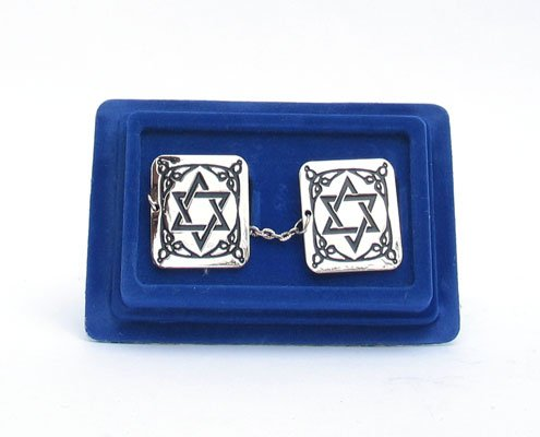 Star of David Tallit Clips (Tallis Clip)