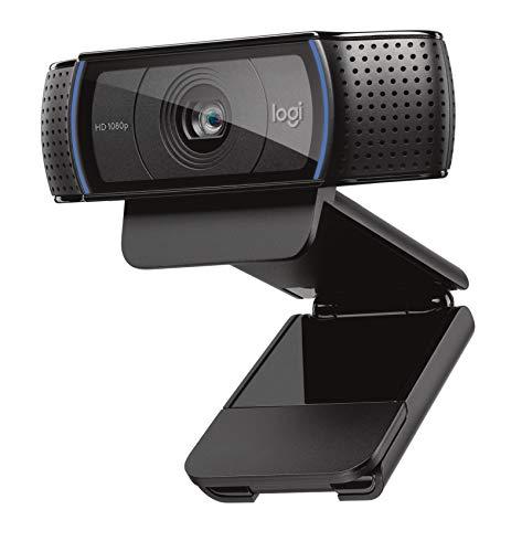 Logitech C920 HD Pro Webcam - Full HD 1080p Video Calling and Recording...