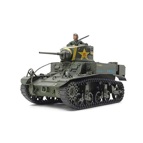 Tamiya America, Inc 1 35 U.S. Light Tank M3 Stuart Late Production, TAM35360 (Model Tanks 1 35 Scale)