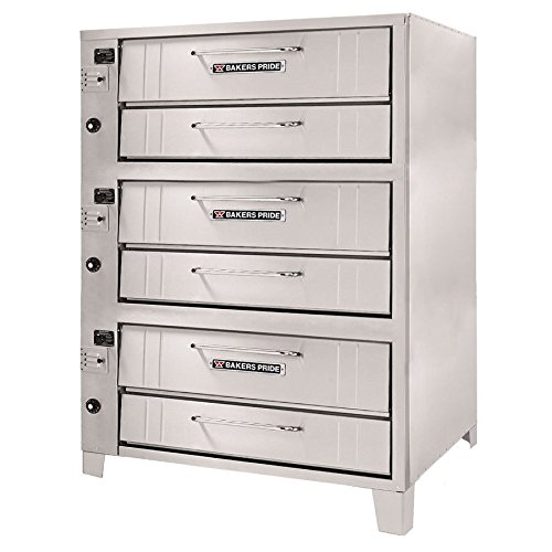 Bakers Pride Convection Flo Triple Deck Gas Oven, 48 x 43 x 78 inch -- 1 each.