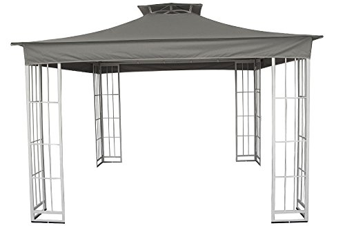 High-Grade 300D Replacement Canopy with Valance for Garden Treasures 10×10 Gazebos