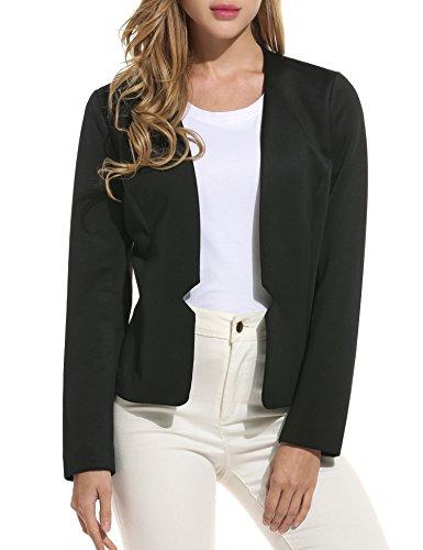 Women's Slim Business Blazer Blue - 9