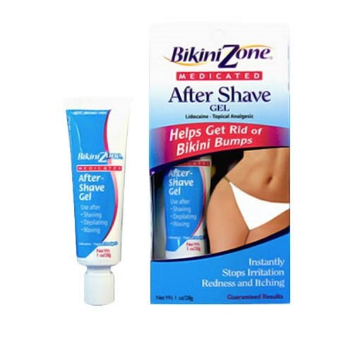 Bikini Zone Medicated Gel For Bikini Area, 1 oz.