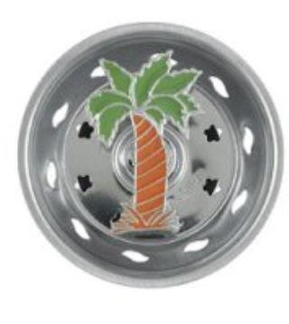 (Enamel Kitchen Strainer Palm Tree )