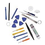 Jili Online 20 in 1 Screen Repair Open Tool Cross Super Screwdriver Set Kit ...