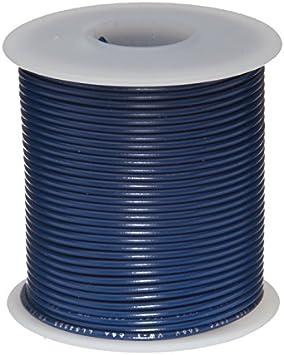 """14 AWG Gauge Solid Hook Up Wire Orange 1000 ft 0.0641/"""" UL1007 300 Volts"""