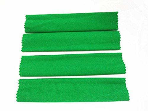 For Traxas 1/5 X-MAXXXX XMAXXXX Shock Damper High Elastic Sleeves Dirt Dust Resist Guard Cover - 4pcs Green CrazyRacer