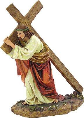 11'' Way Of The Cross Figure Joseph's Studio by Roman
