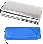 Beautyrain Outdoor Camping Picnic Sleeping Mattress Pad Waterproof Aluminum Foil EVA Mat Moistureproof