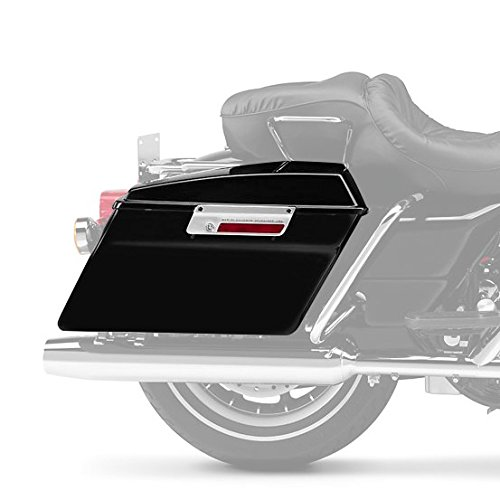 Borse Rigide Laterali per Harley Davidson Road King Classic FLHRC//I nero 98-13