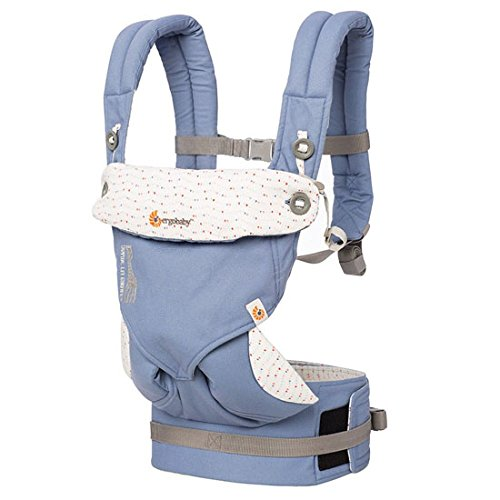 Buy Cheap Ergobaby 4 Position 360 Baby Carrier - Sophie La Girafe Festival Collaboration, Blue